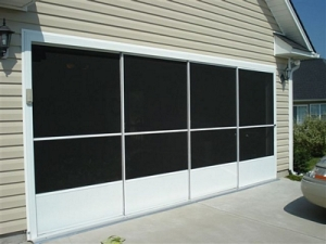 Garage door repairs & screen doors Myrtle Beach by Carefree Exteriors INC